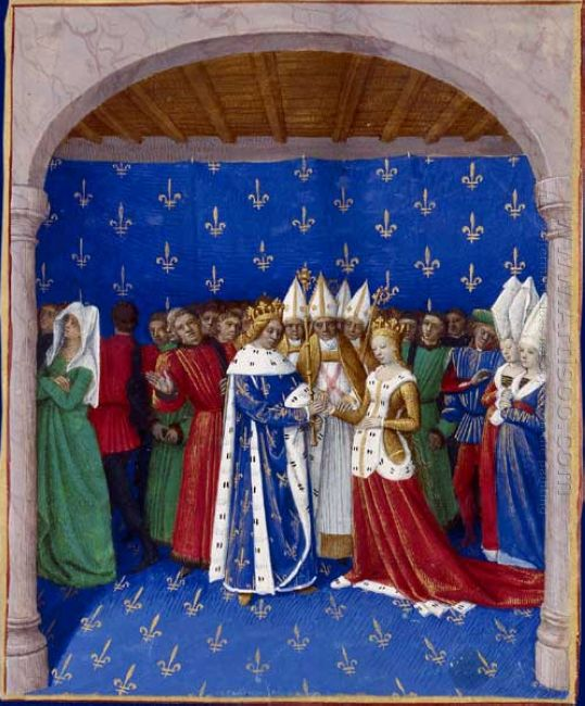 Marriage Of Charles Iv And Marie Of Luxembourg