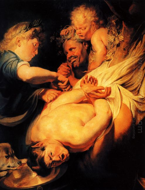 Marsyas Flayed By Apollo 1625
