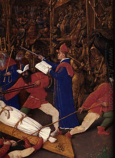 Martyrdom Of Saint Apollonia Detail 1456