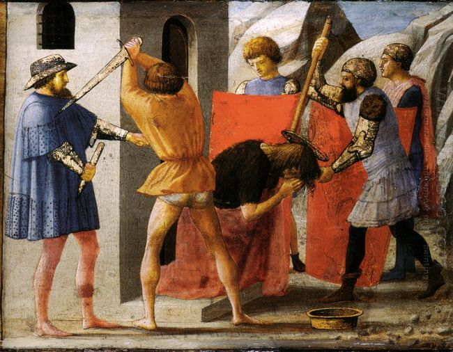 Martyrdom Of San Giovanni Battista 1426