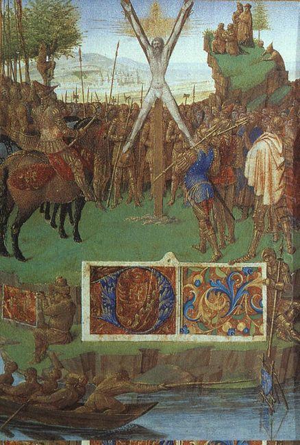 Martyrdom Of St Andrew Before The Proconsul Egeas