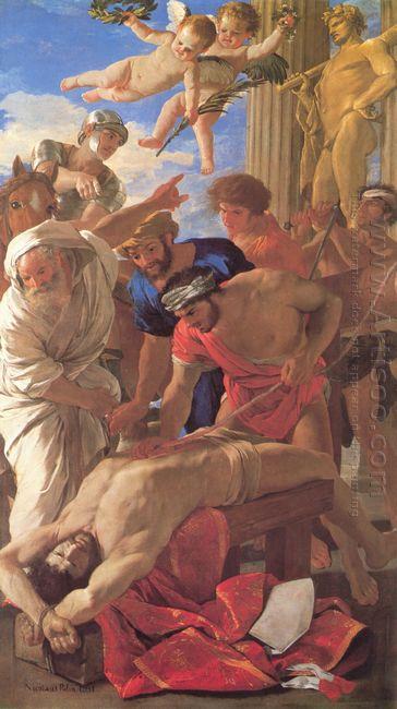 Martyrdom Of St Erasmus 1628