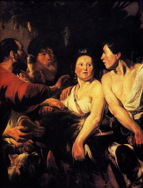 Meleager And Atalanta 1618