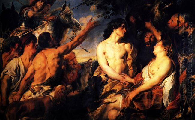 Meleager And Atalanta 1624