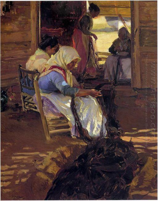 Mending Nets 1901