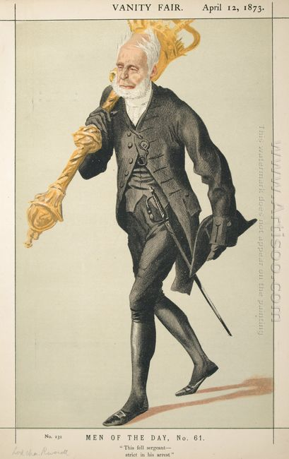 Men Of The Day No 610 Caricature Of Lt Col Lord Charles James Fo