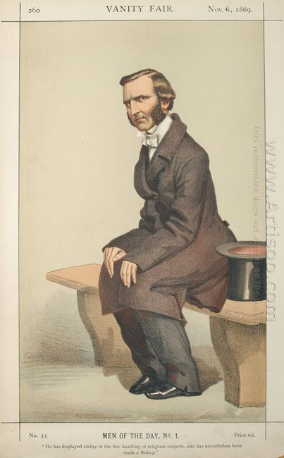 Men Or Women Of The Day No 10 Caricature Of The Rev Frederick Te