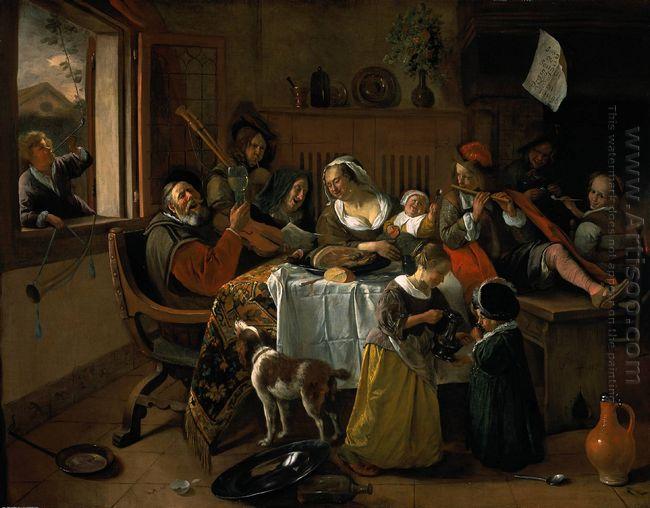 Merry Family 1668