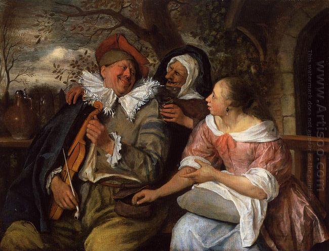 Merry Threesom 1672