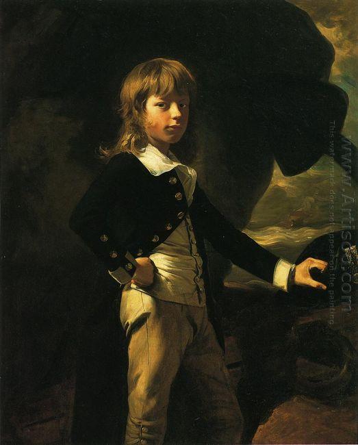 Midshipman Augustus Brine 1782