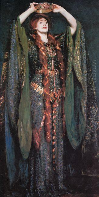 Miss Ellen Terry As Lady Macbeth 1889
