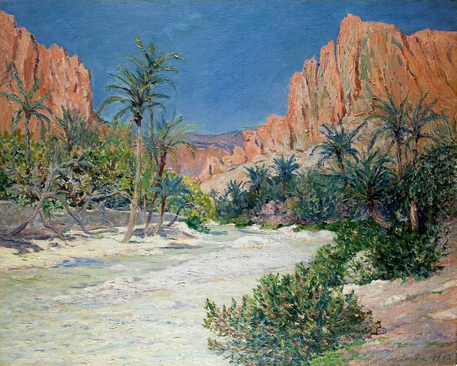 Morning In The Oasis Of Alkantra 1913