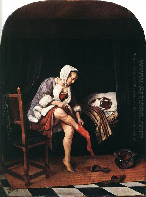 Morning Toilet 1665