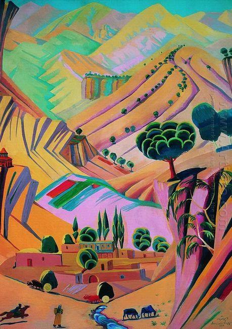 Mottled Landscape 1924