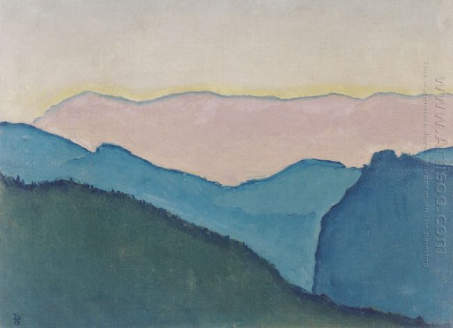 Mountain Ranges 1913