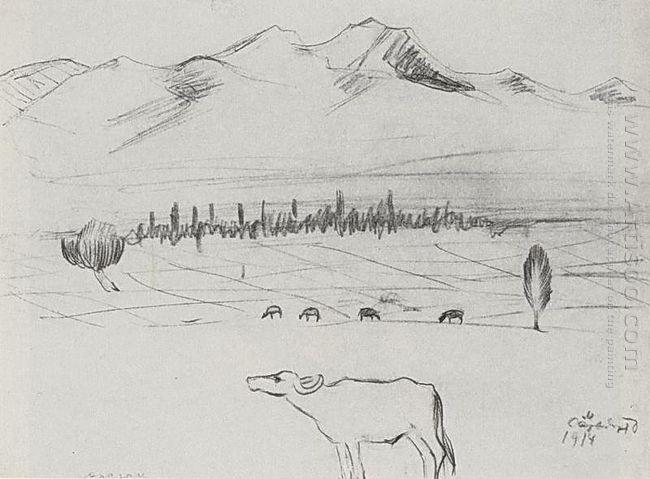 Mount Aragats 1914