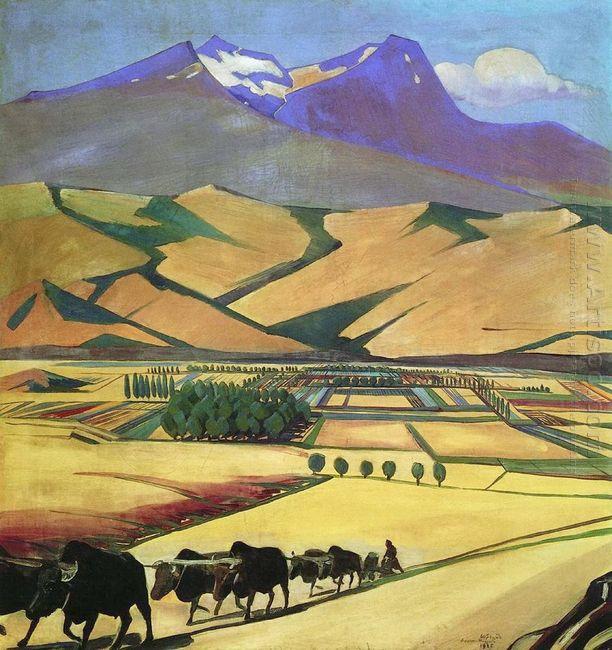 Mount Aragats 1925