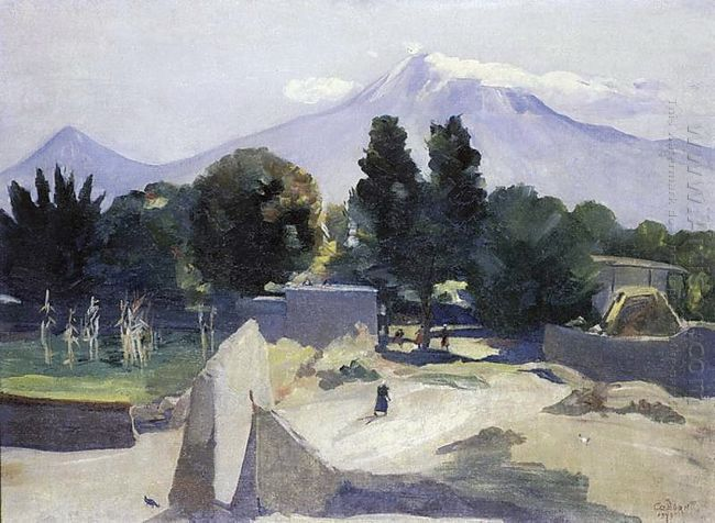 Mount Ararat From The Village Mhchan 1949