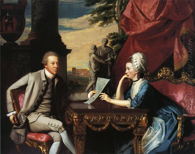Mr And Mrs Ralph Izard 1775