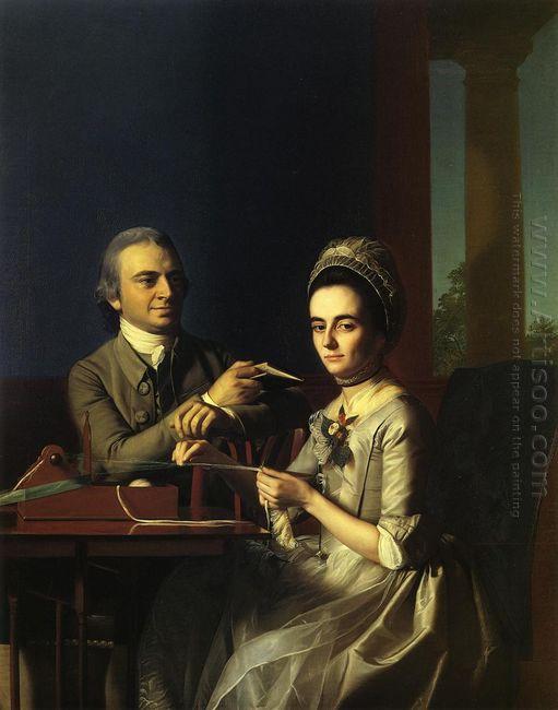 Mr And Mrs Thomas Mifflin 1773