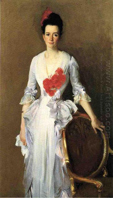 Mrs Archibald Douglas Dick Nee Isabelle Parrott 1886