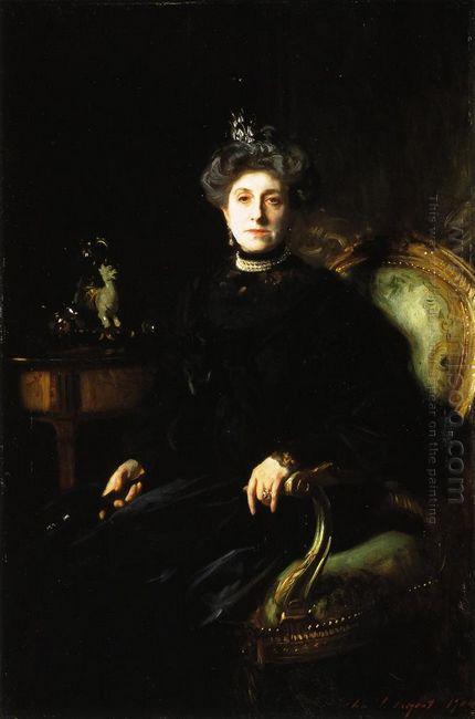 Mrs Asher Wertheimer 1904