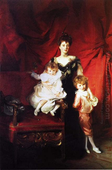 Mrs Cazalet And Her Children 1901