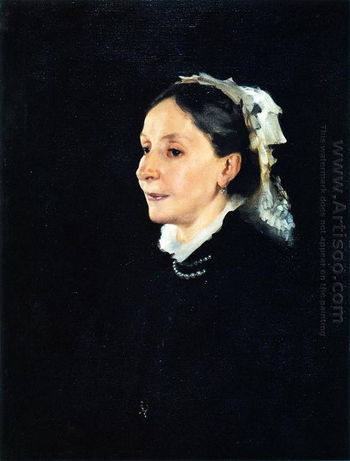 Mrs Daniel Sargent Curtis 1882