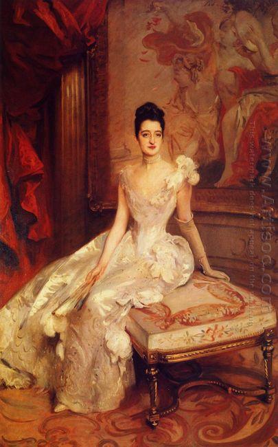 Mrs Hamilton Mckown Twombly Florence Adele Vanderbilt 1890
