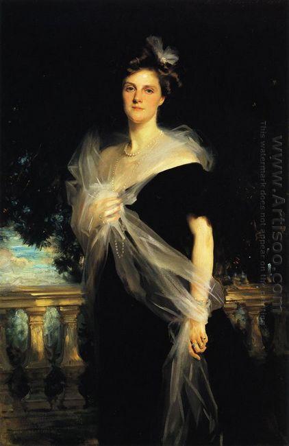Mrs Harold Harmsworth 1906
