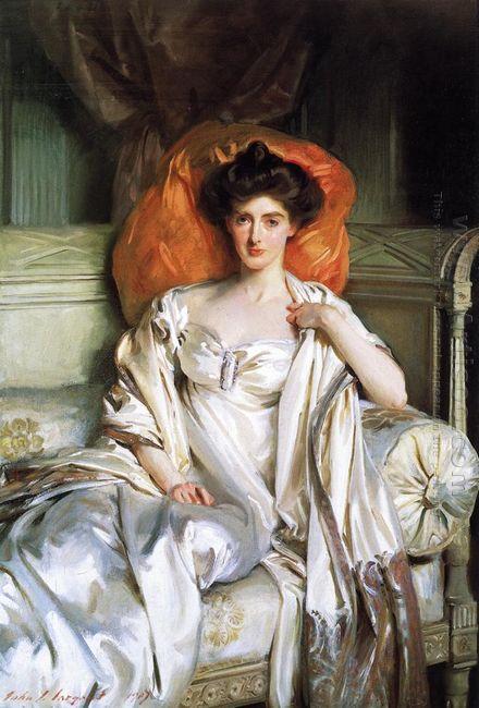 Mrs Huth Jackson Clara Annabel Caroline Grant Duff 1907