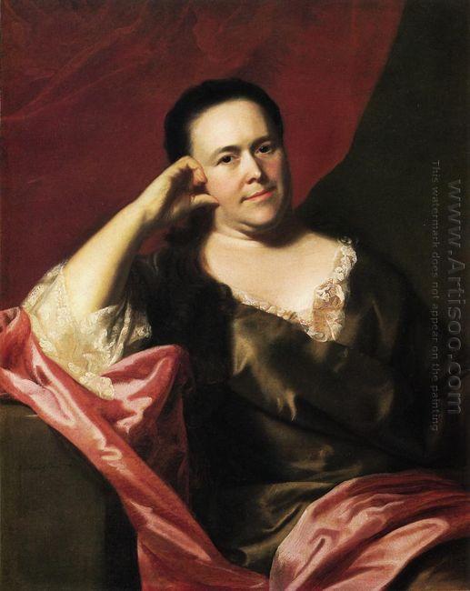 Mrs John Scoally Mercy Greenleaf 1763