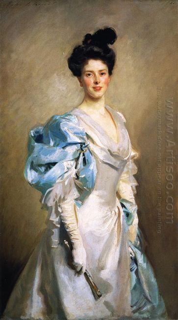 Mrs Joseph Chamberlain 1902