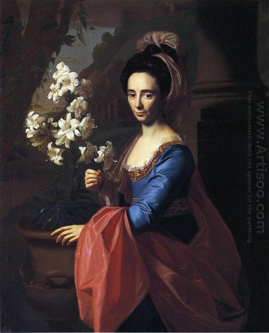 Mrs Moses Gill Rebecca Boylston 1773