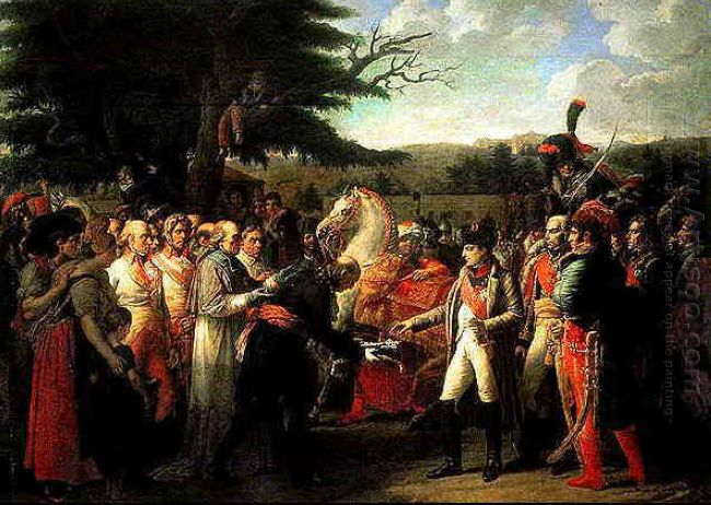 Napoleon Receives The Keys Of Vienna
