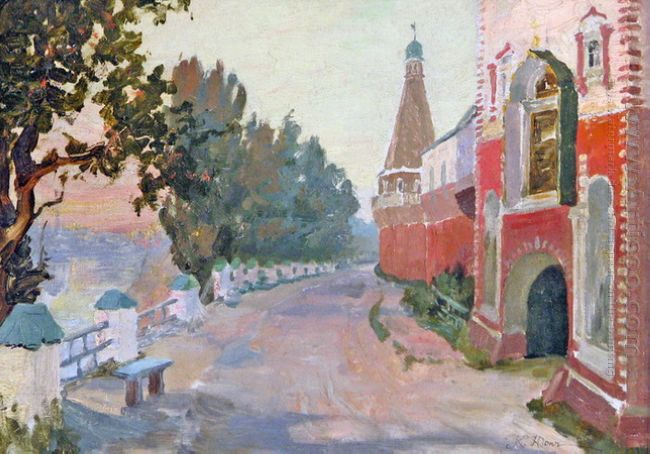 Near The Simon S Monastery 1913