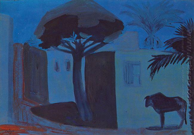 Night Landscape Egypt 1911