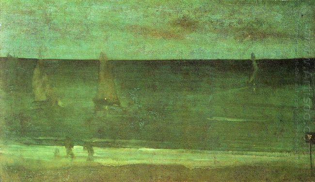 Nocturne Blue And Silver Bognor 1876