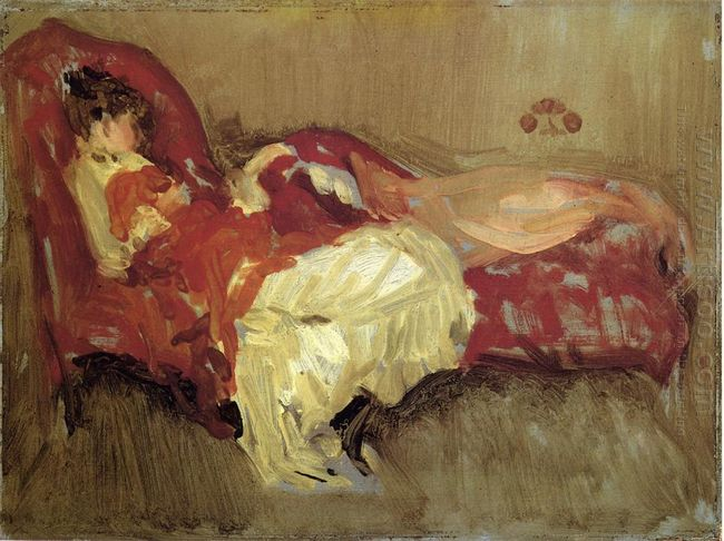 Note In Red The Siesta 1875