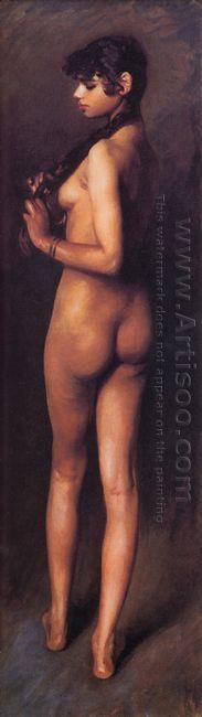 Nude Egyptian Girl 1891