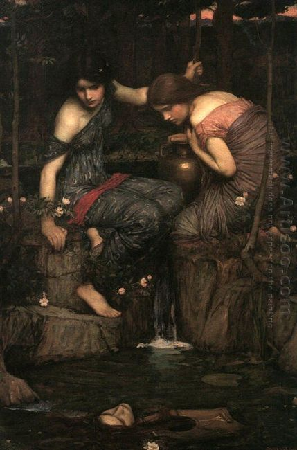 Nymphs Finding The Head Of Orpheus 1900