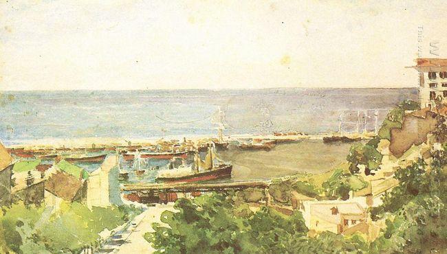 Odessa Harbour 1885
