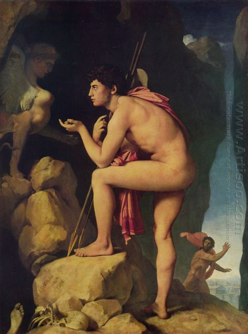 Oedipus And The Sphinx 1808