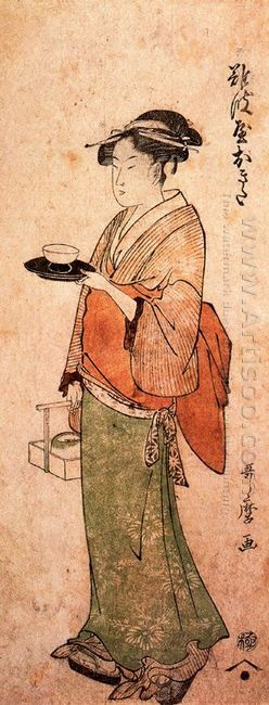 Okita The Tea House Girl