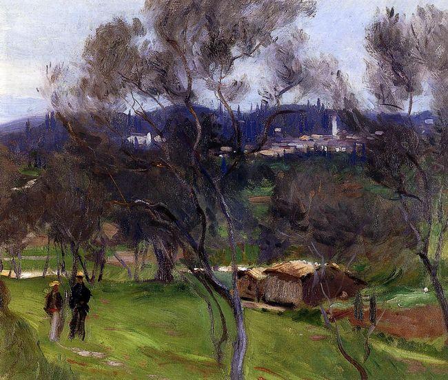 Olive Trees Corfu 1909