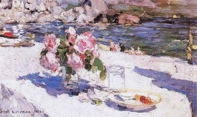 On A Sea Shore 1910