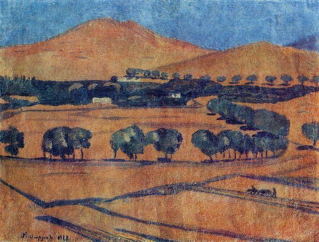 On The Mountain Slopes 1922