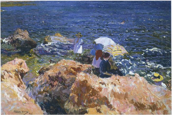 On The Rocks At Javea 1905