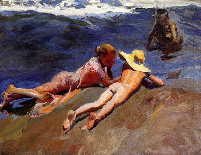 On The Sand Valencia Beach 1908