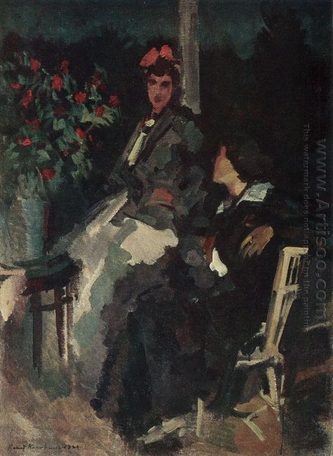 On The Terrace 1920
